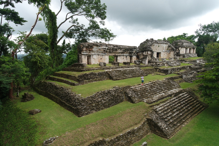 Ruinen in Palenque - Mexico