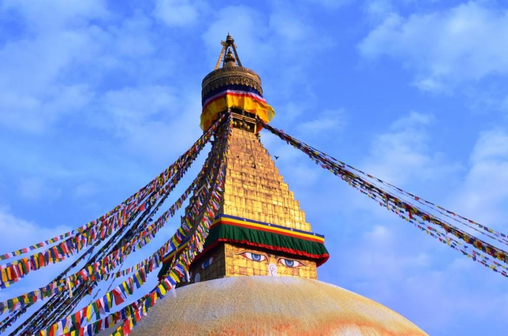 Boudha Stupa in Kathmandu (2)