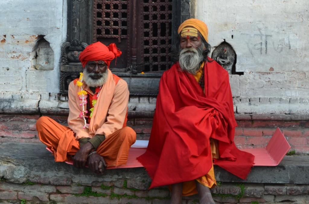 Gesichter von Nepal