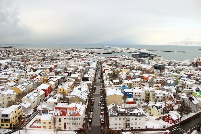 Island-Kosten-eine-Woche-Reykjavik-Strassen
