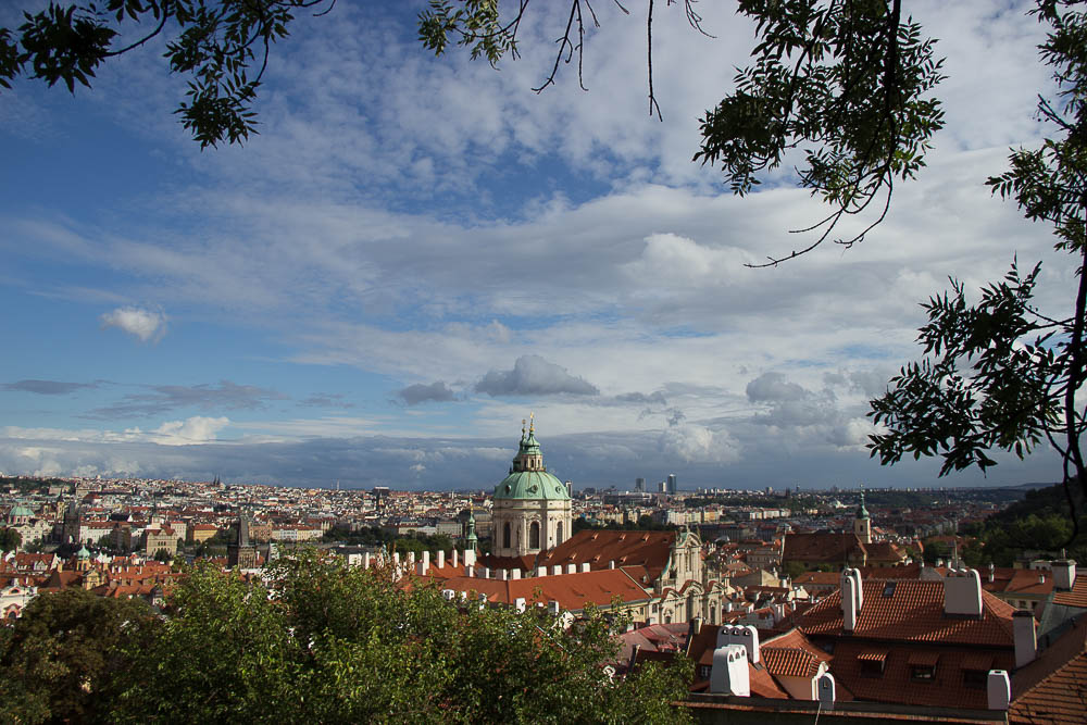 Prag Tipps: Der Ausblick am Schloss
