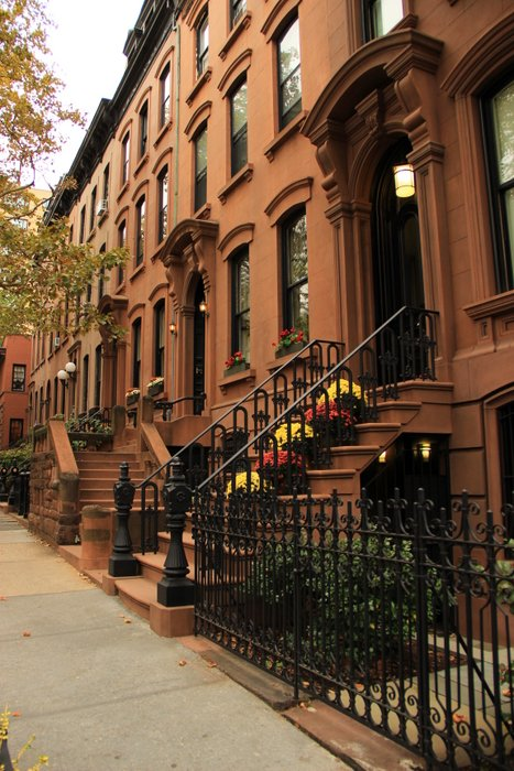 New-York-Bilder-Brownstone-Brooklyn
