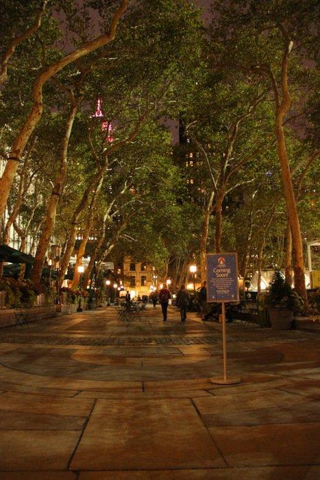 New-York-Bilder-Park-nachts