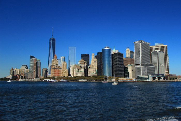 New-York-Bilder-Skyline-Wasser