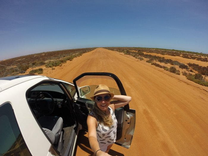 Packliste Camping: Mein Teleskopstab auf dem Roadtrip