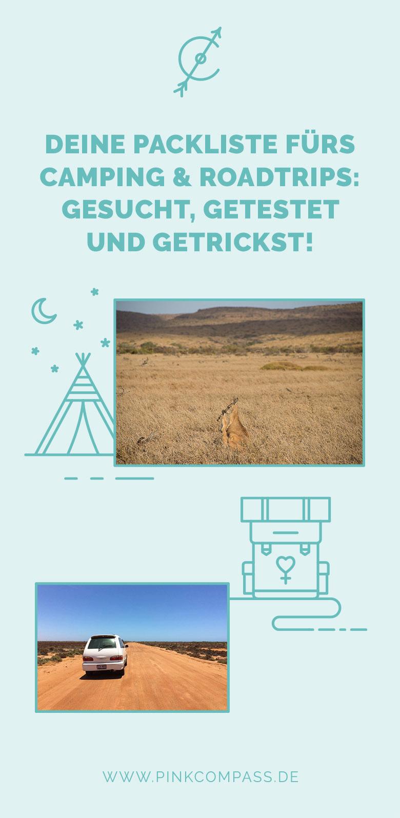Camping und Roadtrips: Deine Packliste!