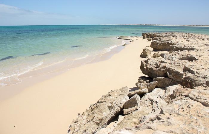 Roadtrip-Westaustralien-einsamer-Strand