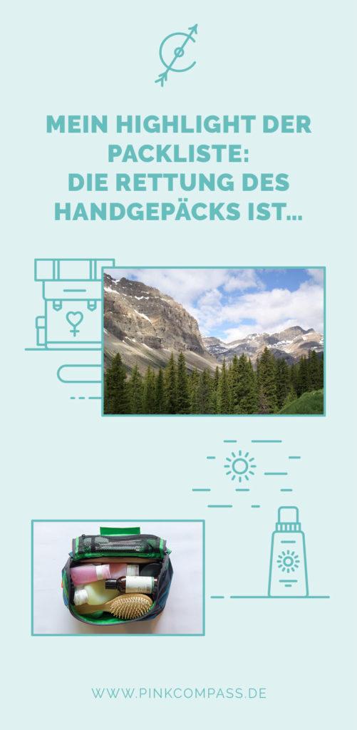 Feste Produkte in Deinem Handgepäck