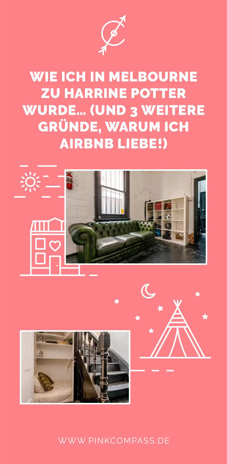 airbnb erfahrung in melbourne einmal wie harry potter schlafen. Black Bedroom Furniture Sets. Home Design Ideas