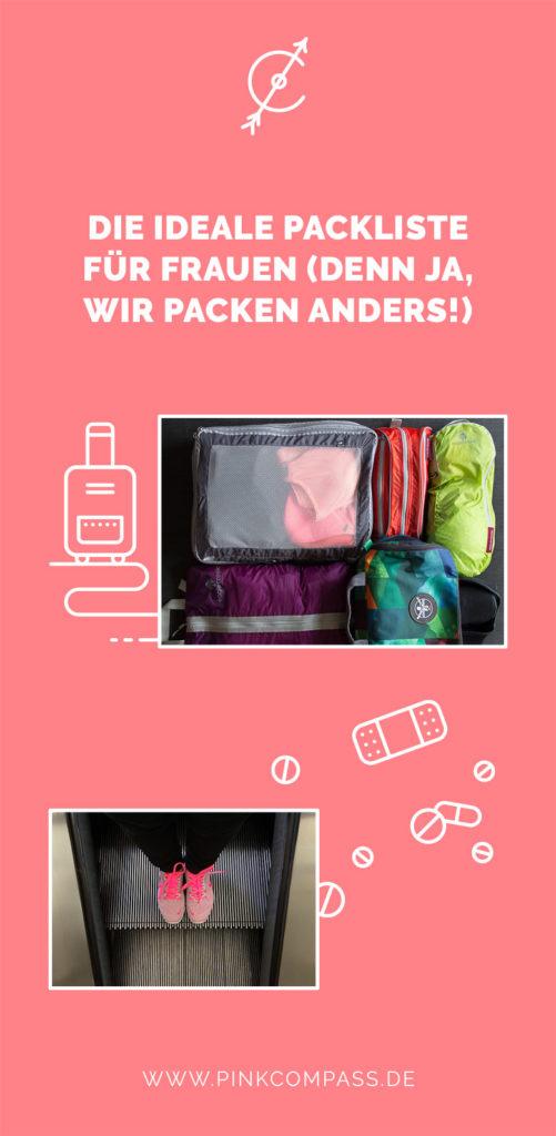 Die perfekte Anleitung für Deine Packliste (für Frauen)