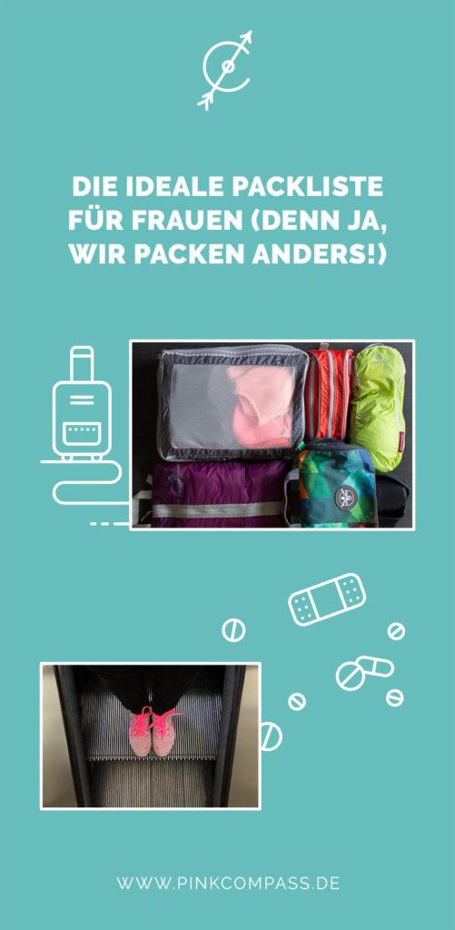 Die ideale Packliste für Frauen (denn ja, wir packen anders!)