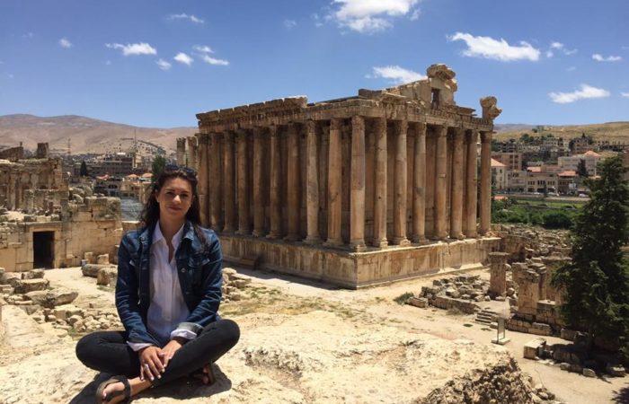 Couchsurfing auf Libanesisch: Ruinen