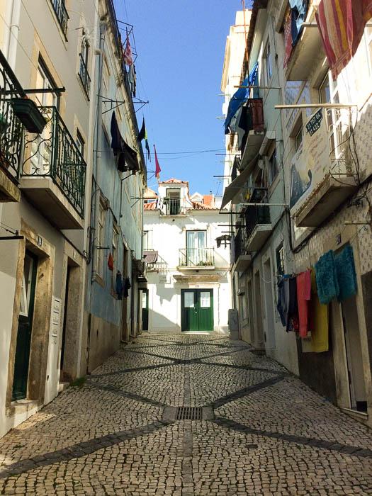 Schöne Bilder: Städtereise Lissabon und meine Gasse