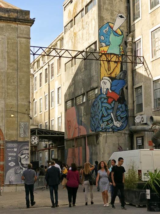 Schöne Bilder: Städtereise Lissabon und die LX Factory