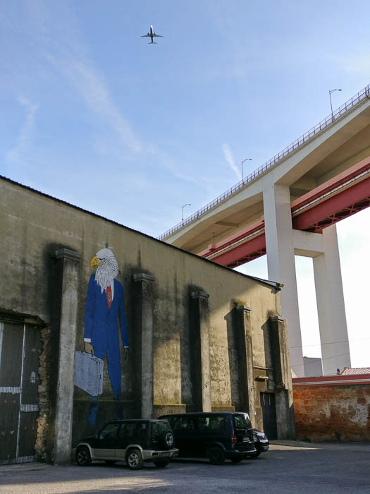 Schöne Bilder: Städtereise Lissabon und die Street Art in LX Factory