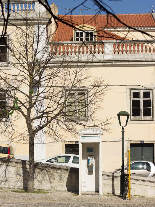Schöne Bilder: Städtereise Lissabon und die Telefonzelle