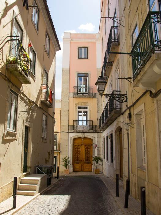 Schöne Bilder: Städtereise Lissabon und seine Türen