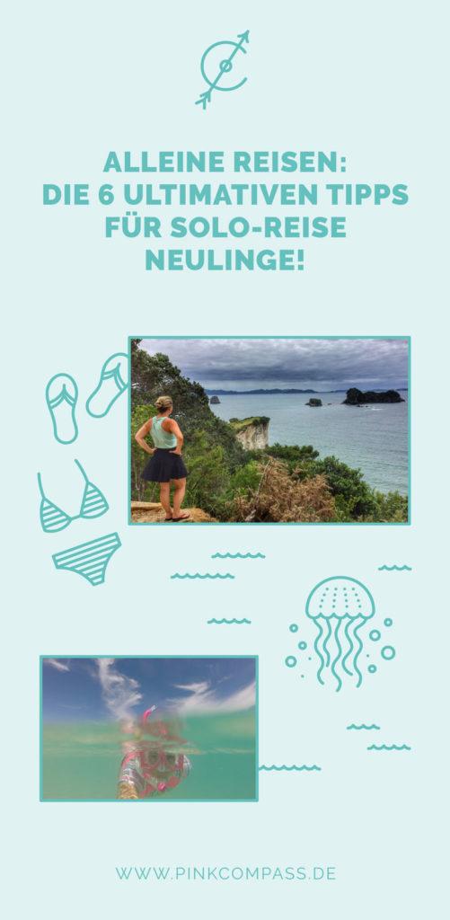 Urlaub alleine: Alleine reisen für Anfänger - gruen