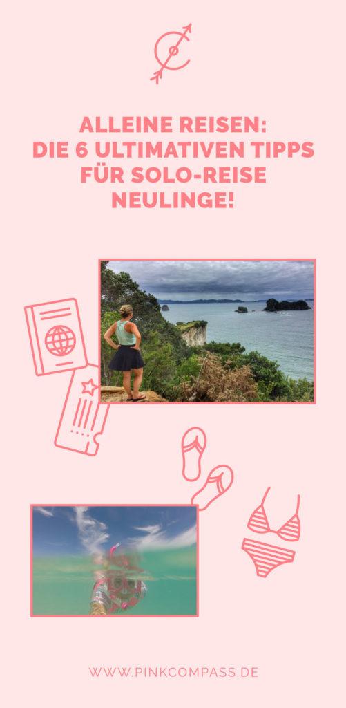 Urlaub alleine: Alleine reisen für Anfänger - rosa