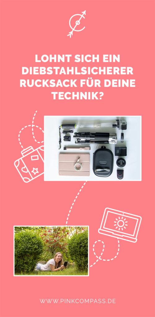 Lohnt sich ein diebstahlsicherer Rucksack für Deine Technik?