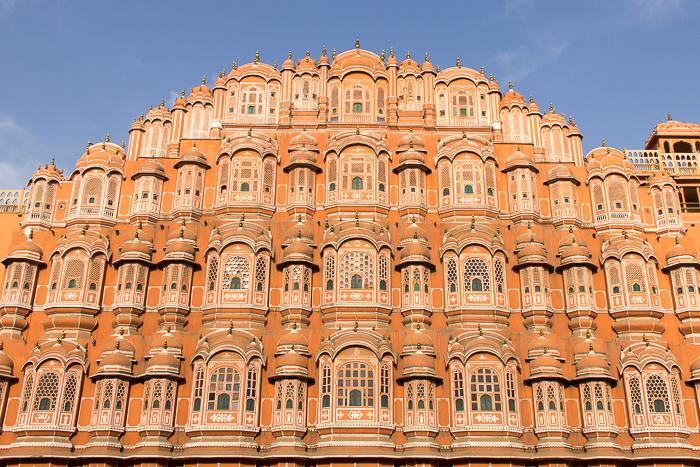Indien-Rundreise-Erfahrungen-Jaipur-Pink