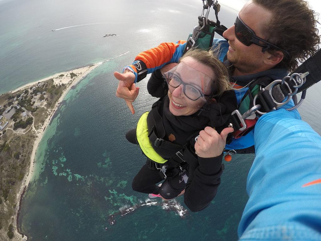 Geronimo Skydive Rottnest Island Erfahrung
