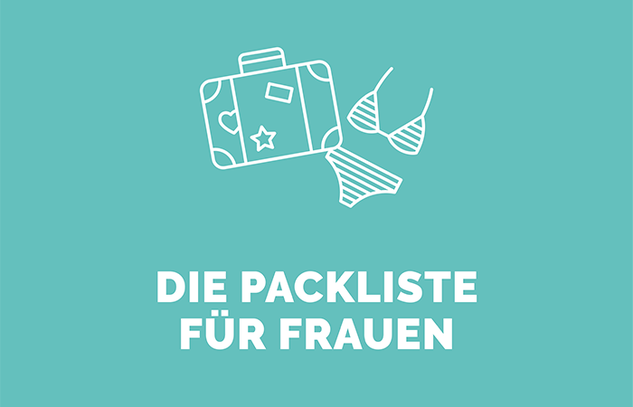 PinkCompass Icons Packliste fuer Frauen