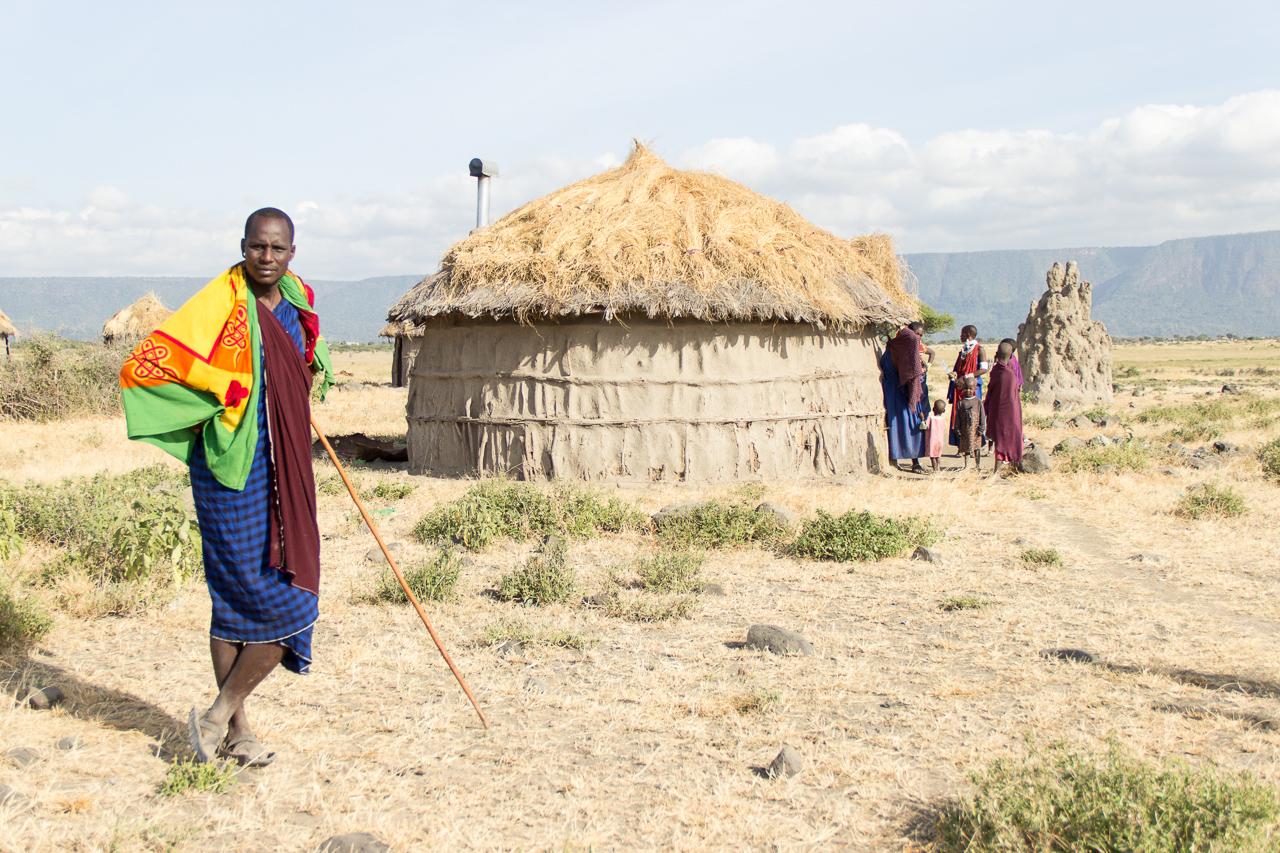 Gadventures Safari Tansania Massai Siedlung