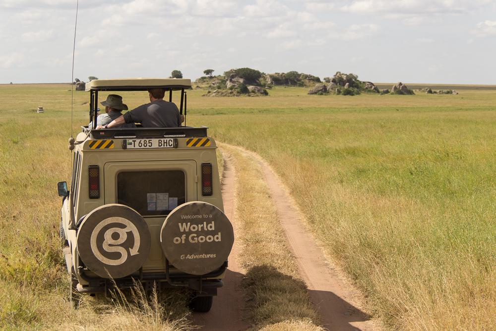 Gadventures Safari Tansania Tourauto