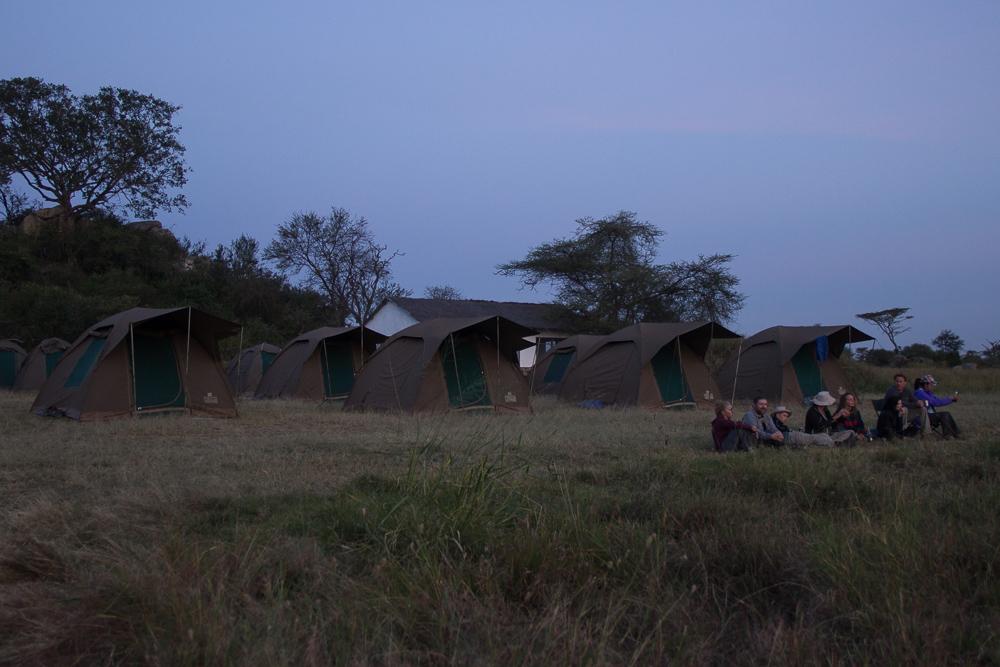 Gadventures Safari Tansania Zeltplatz