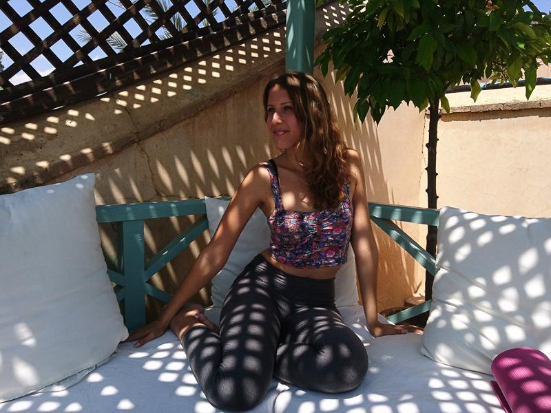 Yoga-auf-Reisen-Marrakech