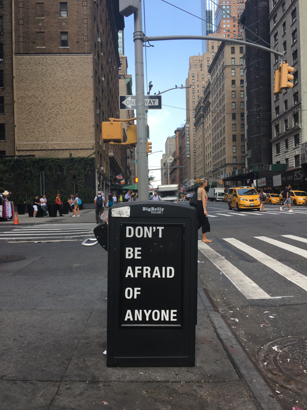 NYC-fuer-Feministinnen-Afraid