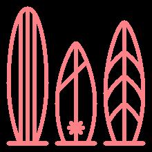 PinkCompass_Icons_Surfbretter
