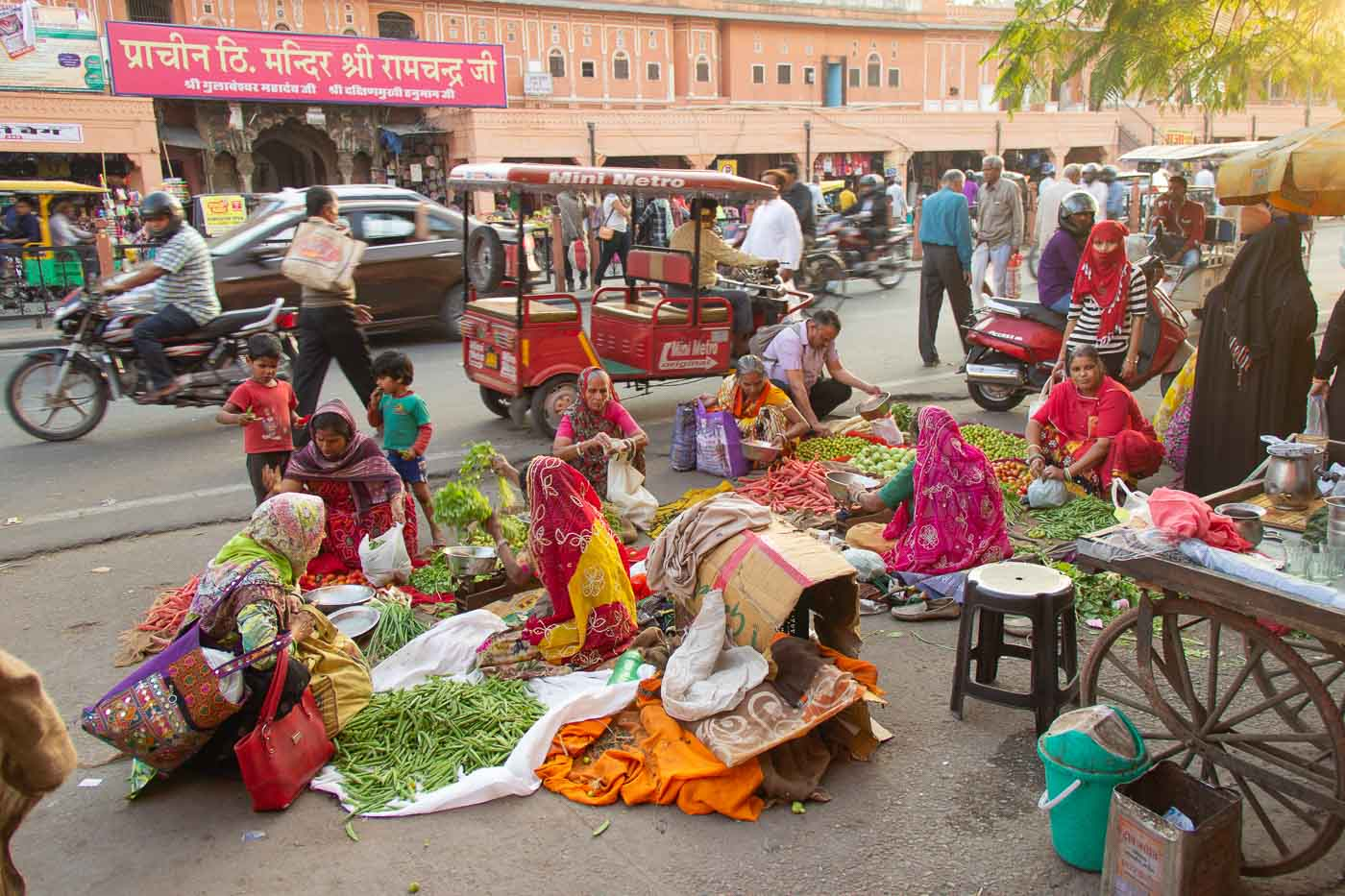 PinkCompass_Indien_Neu-Delhi_Marktfrauen